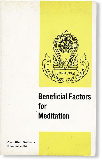 Hindhead, Surrey: Vipassana Foundation, . Second and Enlarged Edition. Slim octavo (20cm.); publishe...
