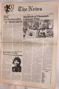 image of The News: vol. 4, #8, July 7, 1989; Hundreds of Thousands Celebrate Pride