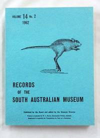 image of Records of the South Australian Museum Volume 14 No 2 1962