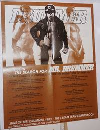 Centerfold poster from Drummer