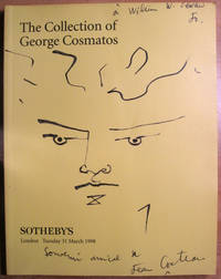The Collection of George Cosmatos; 31 March 1998; Sale LN8199