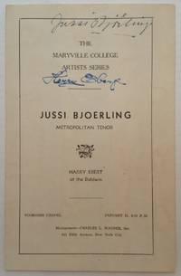 Autographed Concert Program