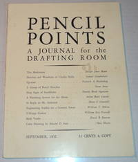 PENCIL POINTS. An Illustrated Monthly Journal for the Drafting Room. [Volume XIII, Number 9, September, 1932].