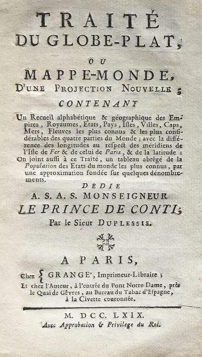 Traité du Globe-Plat, ou...