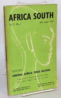 Africa South: Vol. 3, No. 4 July-Sept. 1959
