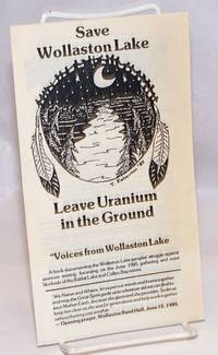 image of Save Wollaston Lake, leave uranium in the ground