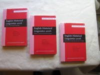 English Historical Linguistics 2006 [3 Volumes] [Bergamo Conference Papers]