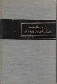 image of Readings in Social Psychology