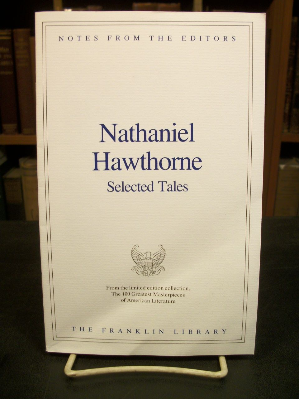 the life and literary masterpieces of nathaniel hawthorne Nathaniel hawthorne wrote a number of famous novels as well as many  in  addition, these books received great reviews from literary critics and  the novel  is considered hawthorne's masterpiece and was an  henry james, in his  biography of hawthorne, described the book as beautiful and charming.