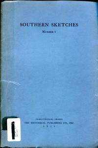 """Southern Sketches, Number 1, First Series: Hinton Rowan: Helper-Advocate of a """"White America"""