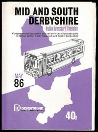 image of Mid & South Derbyshire Public Transport Timetable: May 86