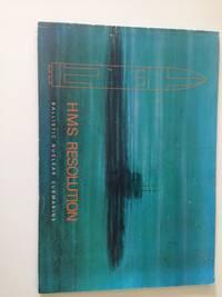 HMS Resolution:  ballistic nuclear submarine
