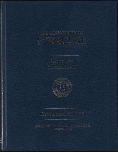 Syracuse, UT: Syracuse Historical Society, 1994. First Edition. Hardcover. VG+. Folio. Blue spine an...