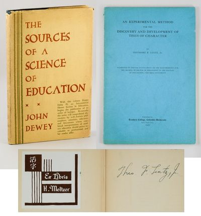 NY: Horace Liveright. (1929). The first volume in the Kappa Delta Pi Lecture Series, in which Dewey ...