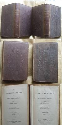 The Poetical Works of Percy Bysshe Shelley Edited By Mrs. Shelley ( 2 Vols of 4)