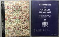 2 1961 catalogs of Church Vestments and Church Hangings: Almy & Son, Cuthbertson Vestment Kit...