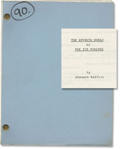 Los Angeles: JF Productions, 1982. First Draft script for the 1984 film. Water is the most valuable ...