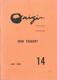 ORIGIN  THIRD SERIES ... FEATURING JOHN TAGGART