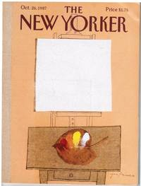 image of NEW YORKER: COVER AUTUMN CANVAS by EUGENE MIHAESCO