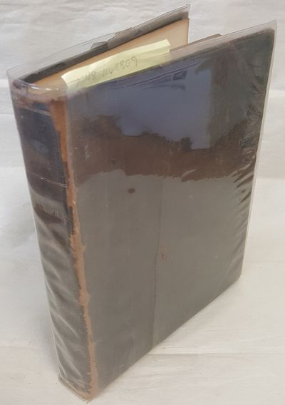 New York; London: The Century Co, 1910. Quarto; g/none; HB, black leather spine with raised bands an...