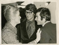 image of Original photograph of Yves Saint Laurent, Catherine Deneuve, and Jean Claude Brialy in 1968