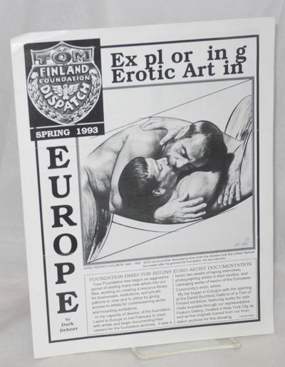 Los Angeles: Tom of Finland Foundation, 1993. 8.5x11 inches, photos, art reproductions, features, ne...