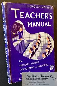 Teacher's Manual for Military, Marine, Vocational & Industrial Training