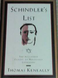 Schindler's List by Thomas Keneally (1994, Hardcover) FREE SHIPPING-NEW