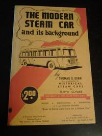 The Modern Steam Car and Its Background