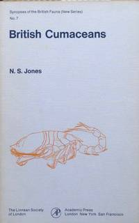 British Cumaceans by  N.S Jones - Synopses of the British Fauna, new series no. 17 - 1976 - from Acanthophyllum Books (SKU: 17826)
