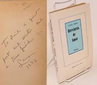 Breviario de amor; poemas [signed]