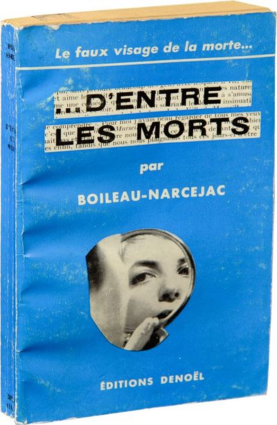 Paris: Denoel, 1954. First French Edition, preceding all others. The French crime fiction duo's thir...