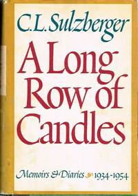 image of A Long Row of Candles Memoirs and Diaries:  1934-1954