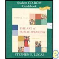 image of The Art of Public Speaking: Student CD-ROM Guidebook (CD and Book)