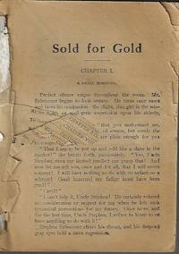 image of SOLD FOR GOLD; The Hart Series No. 55