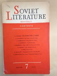 Soviet Literature Monthly 1950 No. 7