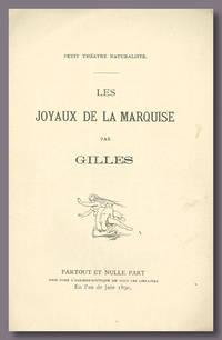 LES JOYAUX DE LA MARQUISE