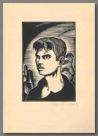 """SELF-PORTRAIT OF LYND WARD AUTHOR OF GOD'S MAN ..."" [caption title]."