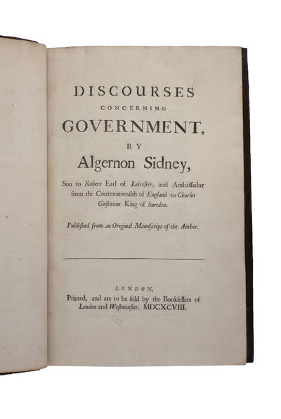 Discourses concerning Government ...