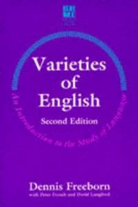 VARIETIES OF ENGLISH An Introduction to the Study of Language