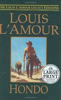 Hondo L Amour  Louis  Large Print