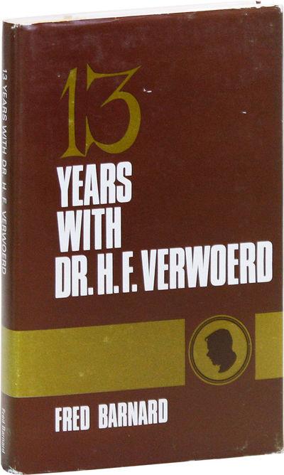 Johannesburg: Voortrekkerpers, 1967. First English Language Edition. Hardcover. Personal memoir of S...