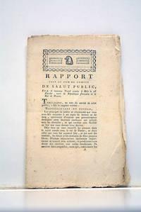 RAPPORT fait au nom du Comité de Salut Public, sur le nouveau Traité conclu...