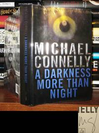 image of A DARKNESS MORE THAN NIGHT Signed 1st