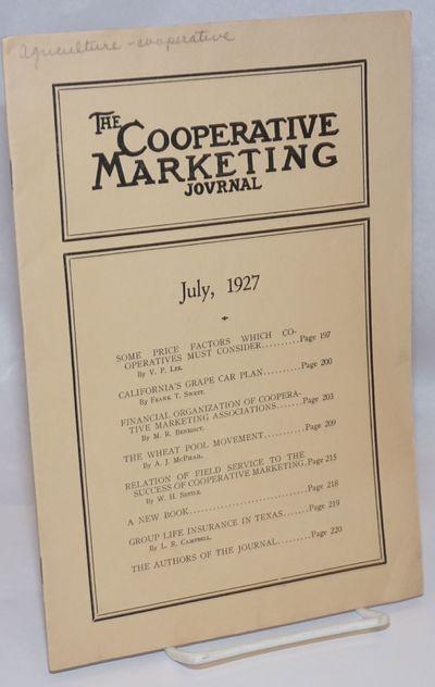 Washington DC: npub, 1927. pp 197-220, stapled wraps, 7 x 10 inches, evenly toned, lightly worn, ex-...