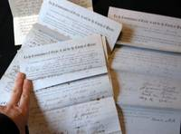 1862 Collection of 6 Tavern & Liquor License Applications for the Town of Jamaica, Long Island New York