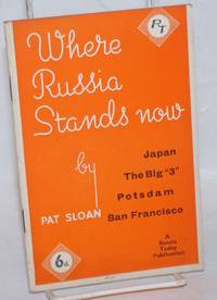 Where Russia Stands Now: Japan, The Big \