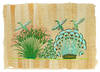 View Image 1 of 3 for Three Egyptian Souvenir Paintings. Inventory #108184