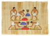 View Image 2 of 3 for Three Egyptian Souvenir Paintings. Inventory #108184