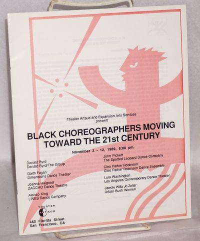 San Francisco: Theater Artaud, 1989. Pamphlet. 16p, illus. program for the tour's performances in Sa...